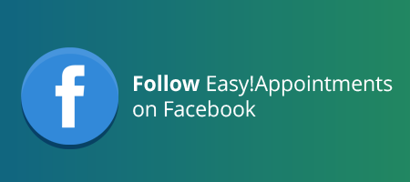 Follow Easy!Appointments on Facebook