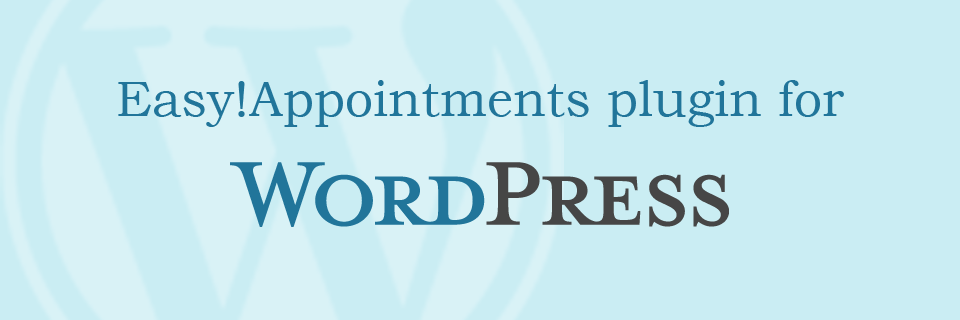 Easy!Appointments Plugin for WordPress