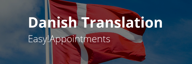 Easy!Appointments Translation in Danish