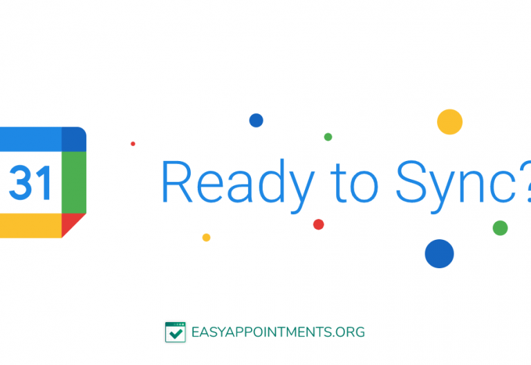 Syncing Appointments With Google Calendar